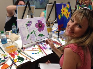 "Our Art and Dine Paint Night! Paint with us, dine with Cafe Itri! Check out the ""Adult Paint Parties"" tab for more information."