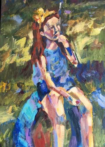 "Amazing Grace Acrylics, 18"" x 36"""