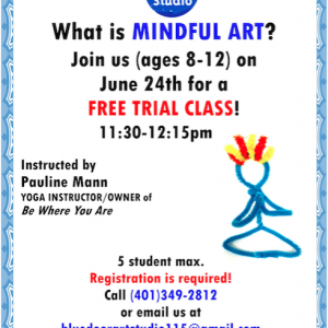 Mindful Art For Kids Trial Class