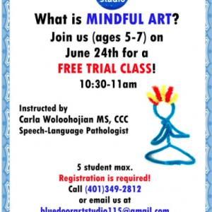Mindful Art For Kids Trail Class
